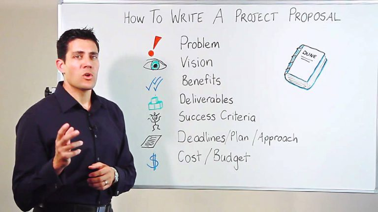 how to write project proposal